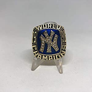 1996 Derek Jeter New York Yankees World Series High Quality Replica Ring Size 9-Gold Colored
