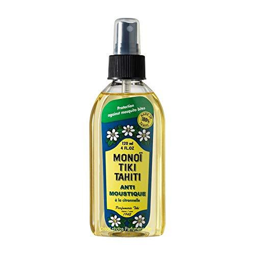 Monoi Tiki Tahiti - Mückenschutz Zitronengras - 120ml