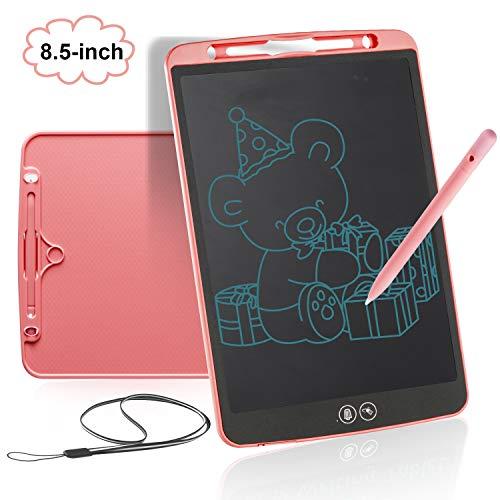 bhdlovely LCD Schreibtafel 8.5 Zoll Bunte Writing Tablet Drawing Board Kinder Spielzeug ab 3-12 Jahren für Jungen Mädchen Geschenke Grafiktabletts Schreibplatte Papierlos für Schreiben Malen Notizen