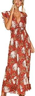 BerryGo Casual Ruffle Dress For Women