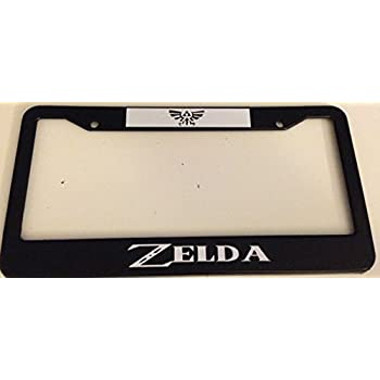 BIN SHANG Make It Rain Black License Plate Frame Legend of Zelda