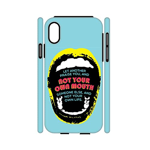 Raro Cajas De Gel De Sílice Suave Y Plástico Duro Compatible para iPhone X XS para Mujeres Diseño Idea