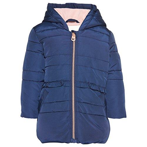 TOM TAILOR Kids Baby-Mädchen rich details puffer jacket Jacke, Blau (Soft Mid Blue 6349), (Herstellergröße: 68)