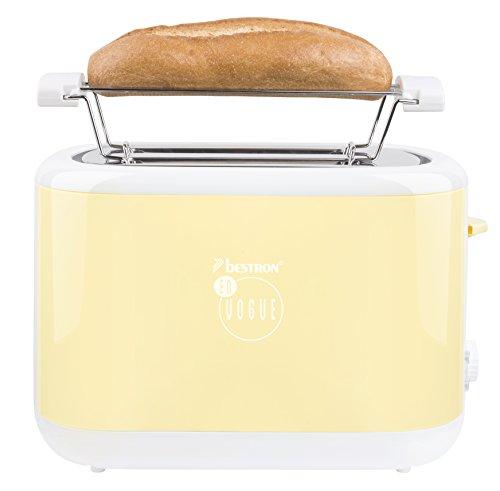 Bestron ATS300EVV Toaster designed by Thomas Rath, vanille