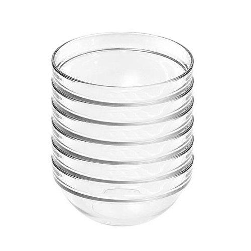 Luminarc 15018 Empilable Salatschälchen Schüssel, Glas, stapelbar, Ø 9cm, klar (6er Pack)