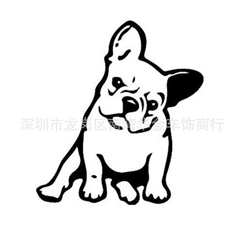 Ocamo Decoración del Coche de la Etiqueta engomada del Coche del Perro del Dogo...