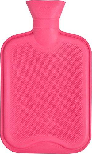 Vagabond 2L roze geribbelde warmwaterfles