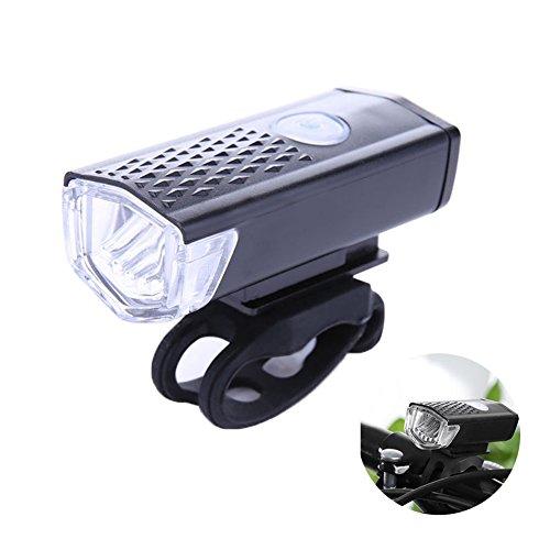 Hrph Fiets koplamp Waterdichte USB Oplaadbare Bike Lights Hoofd Front LED Flash Licht Fietsen Veiligheid Lamp Bike Accessoire