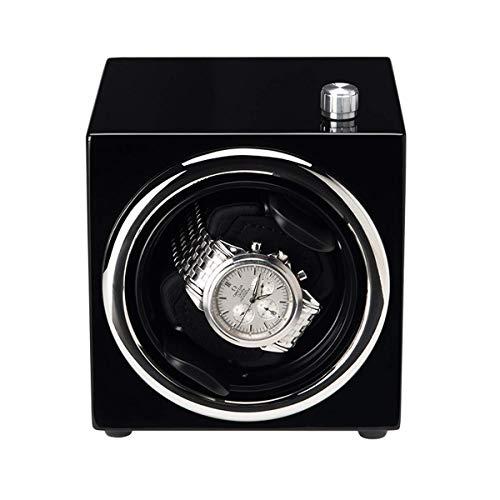 ZHANGYH Vibrador de Reloj mecánico Enrollador automático de un Solo Reloj, Caja de Almacenamiento de Madera de Lujo para Reloj mecánico con Motor silencioso - Superficie