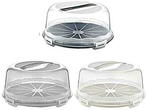Premium Kitchen I Tortenbutler I Kuchenbutler I Tortenbehälter rund 30 cm I Torten und Kuchen Behälter I Spülmaschinengeeignet I