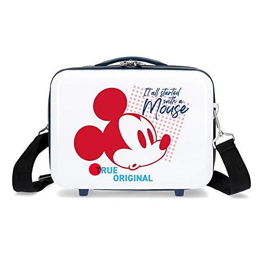 Disney Magic Beauty Case da viaggio 29 centimeters 9.14 Bianco (Blanco)