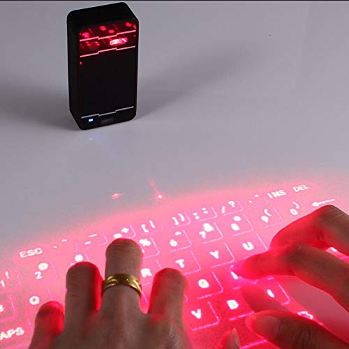 YONGCHY Laser Projection Keyboard Bluetooth Virtuelle Tastatur Für Smartphone Tablet PC Laptop-Tastatur Englisch