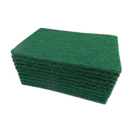 Domum Scrub Sponge Cleaning Pads Aqua Green.(Pack of -10)
