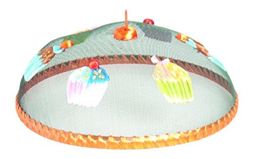 Excelsa Cupcake Coprivivande, Tondo, Rafia, Arancio