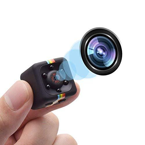 Parkourer Videocamera Spia Nascosta Mini Spy Cam 1080 HD Dotata Di Rilevatore Di Movimento E Supporto Infrarossi Per Visione Notturna per la Casa, l'ufficio e la Sicurezza di Guida