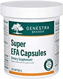 Genestra Brands - Super EFA Capsules - Supports Cardiovascular, Brain, Eyes, and Nerves - 120 Capsules