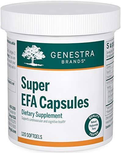 Genestra Brands - Super EFA Capsules - Supports Cardiovascular, Brain,...