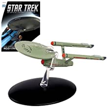 Star Trek Starships The Original Series U.S.S. Enterprise NCC-1701 Die-Cast Vehicle with Collector Magazine
