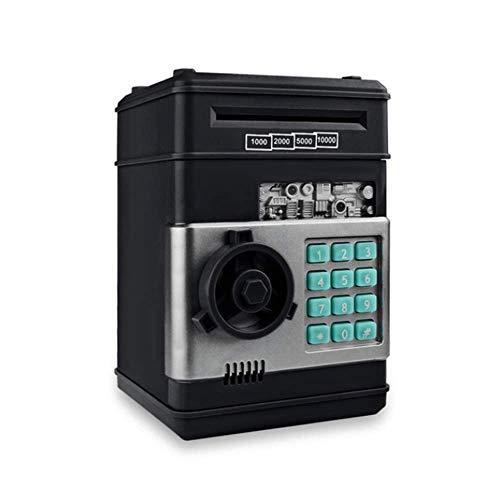 YWT Elektronisches Sparschwein, Mini-Geldautomat-Passwort-Spardose, Geldmünzen-Spardose Geldautomat-Bank-Safe, hohe Kapazität, Geburtstagsgeschenke Spielzeuggeschenke für Kinder