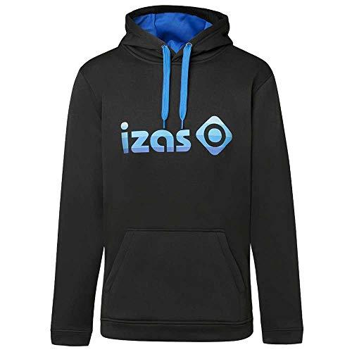 Izas Imjpu00757Bk/Ry4Xl - Hooded Pullover - Duero Color: Black/Royal - M
