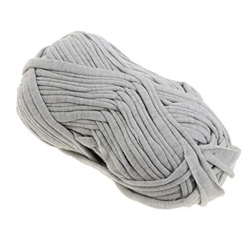 perfk 100g Textilgarn zum Häkeln und Stricken, Jerseygarn Häkelfaden für Handwerk DIY Projekte - 93