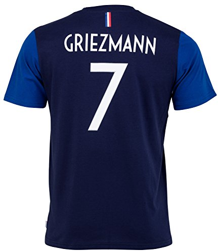 Equipe de FRANCE de football T-Shirt FFF - Antoine Griezmann - Collection Officielle Taille Enfant garçon 4 Ans