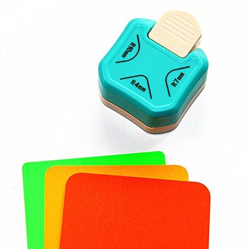 Perforadora de papel Cady (4 mm, 7 mm, 10 mm) 3 en 1 para