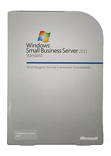 Windows Small Business Server Standard 2011 64Bit - ITALIAN – SBS FULL RETAIL BOX EDITION