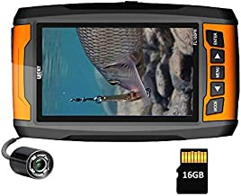 Lucky Underwater Fishing Camera Portable High Resolution Fish Finder Camera with Infrared Lights Underwater Camera for Ice Fishing Sea Fishing Boat Fishing