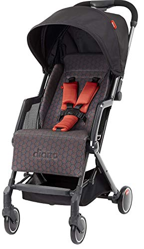 Sale!! Diono Traverze, The Original Airplane Stroller, Charcoal Copper Hive