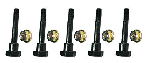 The ROP Shop (5) Shear PINS & Bolts fits Honda HS724, HS80, HS828, HS928 Snow Thrower Blowers