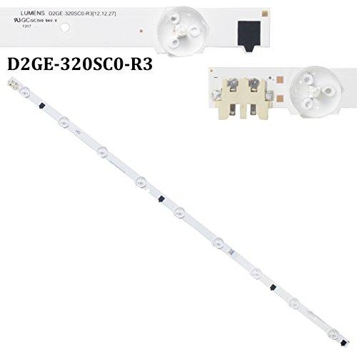 1650mm LED-Hintergrundbeleuchtung Lampe Strip 9LEDs für Samsung 81,3cm TV d2ge-320sc0-r3BN96–25300A ua32F4088BN96–25299A UE32F5000UE32F6100UE32F4000