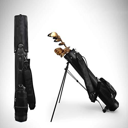 WXYXG Golftasche, Leicht Tragbar Mit Ständer, Mehrfarbig Optional (Color : Black)