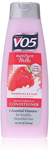 Vo5 Moisture Milks Conditioner Cream, 12.5 Oz, Strawberries (Pack of 1)