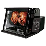 Ronco Showtime Classic Large Capacity Rotisserie & BBQ Oven, Simple Switch Control, Perfect Preset Rotation...
