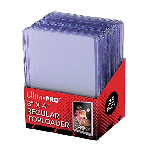 Ultra Pro Toploaders 3x 4 Gioco di Carte Trasparente Regolare CT25.