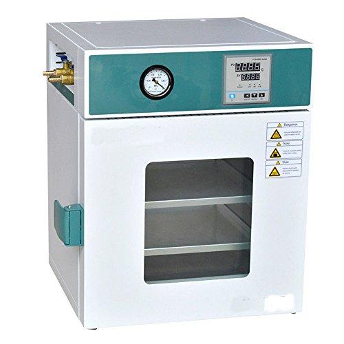 MXBAOHENG Nuevo horno de secado al vacío digital de laboratorio de acero inoxidable 250°C 12x12x11 (220V)