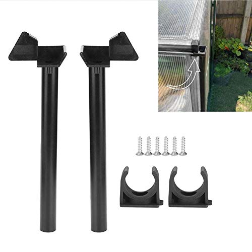 Atyhao Greenhouse Rainwater Gutter Water Butt Down Pipe Kit Drainage Downpipe Accessory Supplies Roofing Gutters Elbows