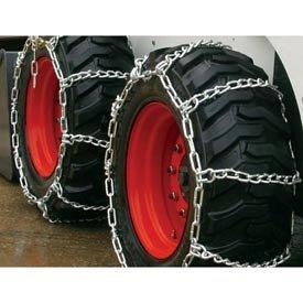 3400 Series Skid Loader Chains w/HD Twist Cross Chains, 4 Link (Pair) - 0342755