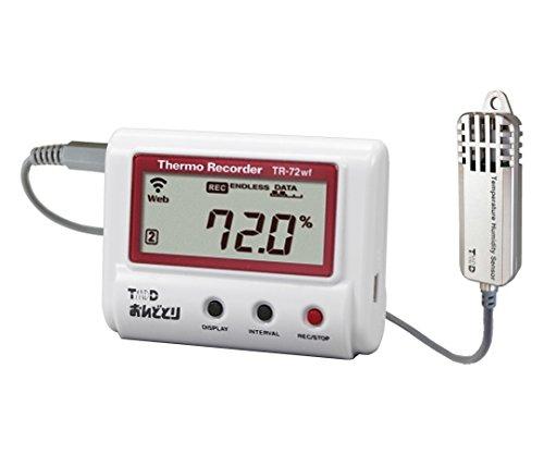 ティアンドデイ 温度湿度データロガー 有線LANタイプ 62-5001-30/TR-72NW-S
