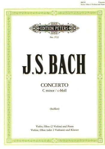 BACH - Doble Concierto en Do menor (BWV:1060) para Violin, Oboe (2 Violines) y Piano