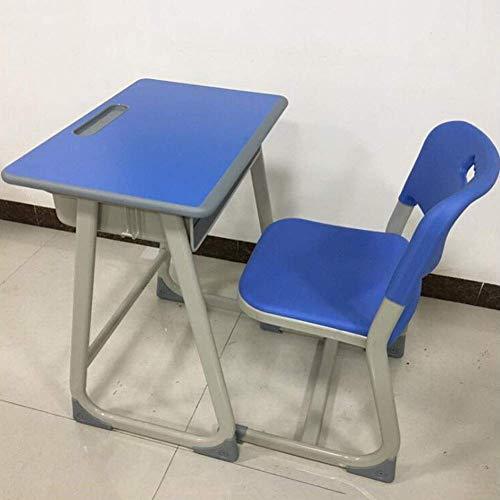 N/Z Tägliche Ausrüstungstische Schreibtisch und Stuhl Schulschreibtisch Schüler mit Fester Höhe Lernarbeitsplatz Schreibtisch Schreibtisch Grün 76 cm