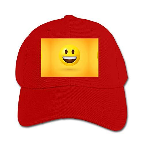 Starolac Emoji Smiley 3D Impresión Moda Personalidad Niños Gorra De Béisbol