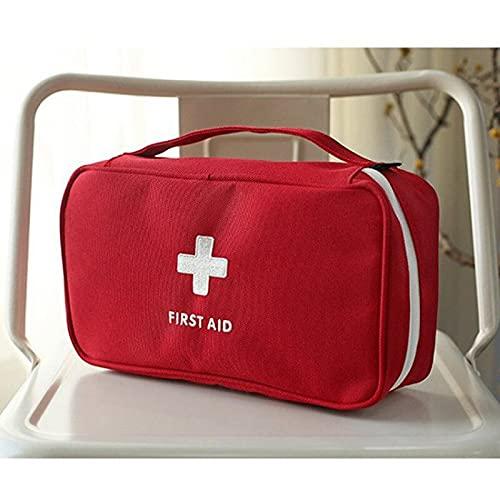 XLLQYY Bolsa de primeros auxilios vacía bolsa de rescate de viaje bolsa de emergencia para el coche, hogar, oficina, cocina, deportes al aire libre (C)