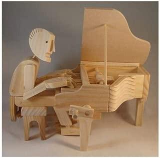 The Pianist Timberkit Wooden Model Kit