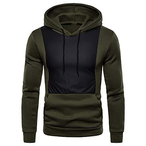Z&Y Glaa Herren Sweatshirt Kapuzenpullover Sweatjacke Pullover Hoodie Hoodie Sweatshirt Herren Pullover Hoodie Slim fit Kapuzenpullover Kapuzenjacke mit gestempeltem Design Logo