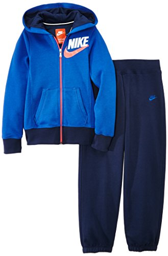 Nike Mädchen Trainingsanzug Dres SB Cuffed Warm Up, Game Royal/Midnight Navy, S