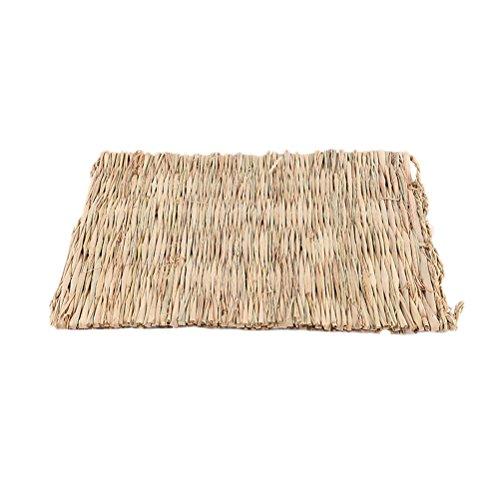 ueetek alfombra para hamsters de cáñamo alfombra de mascar juguete para los conejos