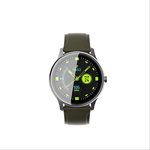 Toule - Smartwatch smart bracelet blood pressure fitness exercise waterproof heart rate detection health Black.