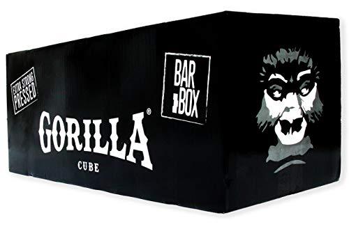 Gorilla Cube ESP Shisha Kohle 20kg Bar Box - 20 x 1kg - 26mm Cubes